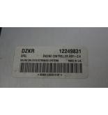 OPEL ASTRA G MOTOR ECU Z16XEP 12249831
