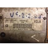 OPEL VECTRA C 2.2 BENZİNLİ MOTOR BEYNİ 12571663AL